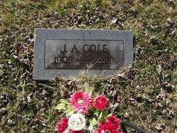 """John Arrelius """"Johnny"""" Cole"""