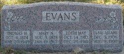 Mary Augusta <I>Nelson</I> Evans