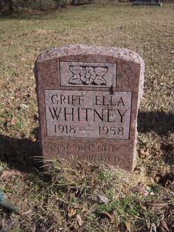 Griff Ella Whitney