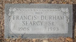 "Francis ""Duck"" <I>Durham</I> Searcy"