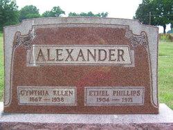 Ethel <I>Alexander</I> Phillips