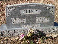 John Otto Ahlers