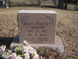 Joann <I>Whitney</I> Jackson