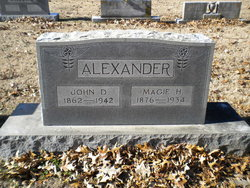 Magie H. <I>Blackburn</I> Alexander