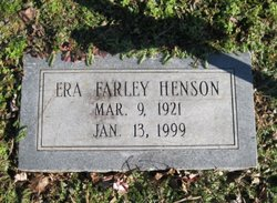 Era <I>Farley</I> Henson