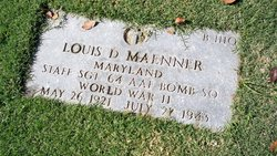 Sgt Louis D Maenner