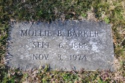 Mollie B. <I>Keefer</I> Barker