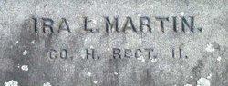 Pvt Ira Lewis Martin