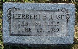 Herbert B Ruse