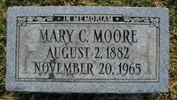 Mary C Moore