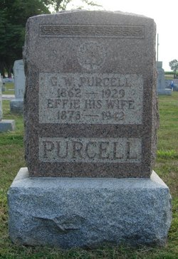 Effie May <I>Rich</I> Purcell