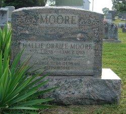 Hallie Orriel Moore