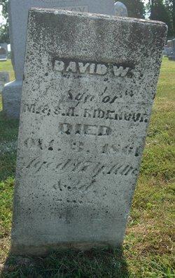 David W Ridenour