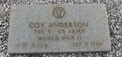 Columbus Coy Anderson
