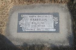 Marva <I>Haglund</I> Harrison