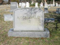 Louise <I>Parker</I> Archibald