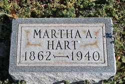 Martha A <I>Crow</I> Hart