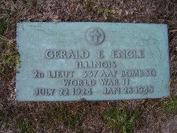 2LT Gerald E Engle