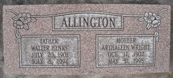 Walter Henry Allington, Jr