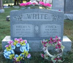 Thelma Nadine <I>Gaddis</I> White