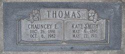 Kate <I>Smith</I> Thomas