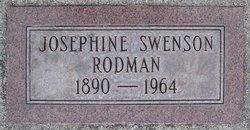 Josephine <I>Swenson</I> Rodman