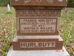Martha G <I>Wallick</I> Hurlbutt