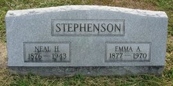 Emma A <I>Johnson</I> Stephenson