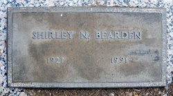 Shirley Anne <I>Norman</I> Bearden