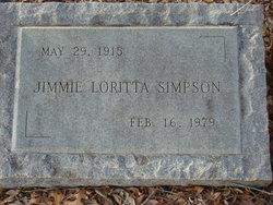 Jimmie Loritta Simpson