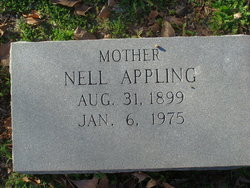 Nell Amelia <I>West</I> Appling