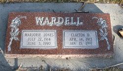 Marjorie <I>Jones</I> Wardell