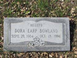 Dora <I>Earp</I> Bowland
