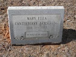 Mary Eliza <I>Canterberry</I> Armstrong