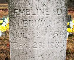 Emeline Day <I>Harman</I> Brown