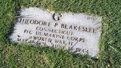 PFC Theodore P Blakeslee