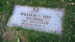 PFC William Crawford Fox