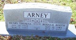 "Henry Thomas ""H.T."" Arney"
