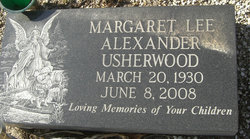 """Margaret Lee """"Maggie"""" <I>Alexander</I> Usherwood"""