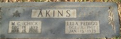 Lela Marie <I>Pedigo</I> Akins
