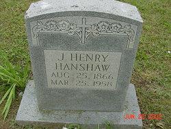 Jacob Henry Hanshaw