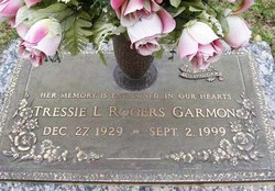 Tressie L. <I>Rogers</I> Garmon