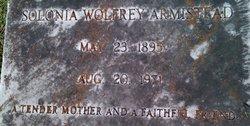 Solonia Wolfrey Armistead