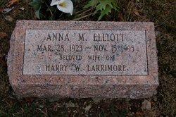 Anna M <I>Elliott</I> Larrimore