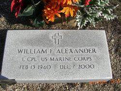 William F Alexander