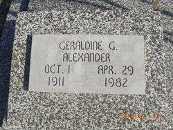 Geraldine G Alexander
