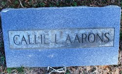 Callie L <I>Perry</I> Aarons
