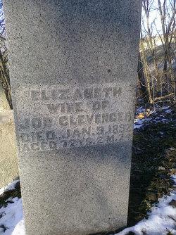 Elizabeth <I>Bowers</I> Clevenger