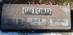 """Bernard Fredrick """"Bud"""" Gifford"""