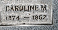 "Caroline May ""Carrie"" <I>McCreary</I> Campbell"